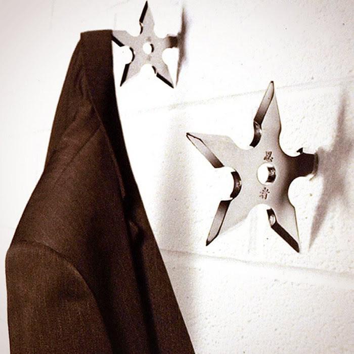 11. Вешалки в виде метательных звёзд ниндзя — 398 руб. магазины, товары