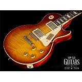 Gibson Custom Shop LPR93VOITNH1 1959 Les Paul Reissue VOS-2013 Electric Guitar, Ice Tea