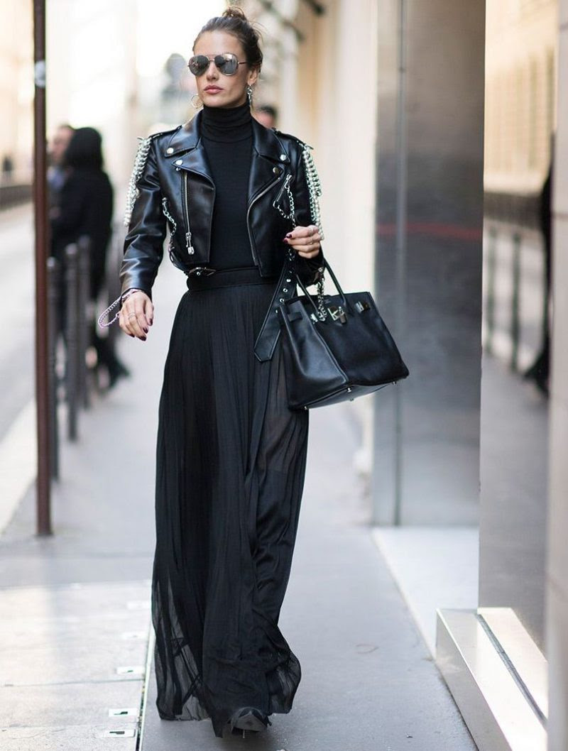 rock chic outfit ideas for women 2020 ⋆ fashiontrendwalk