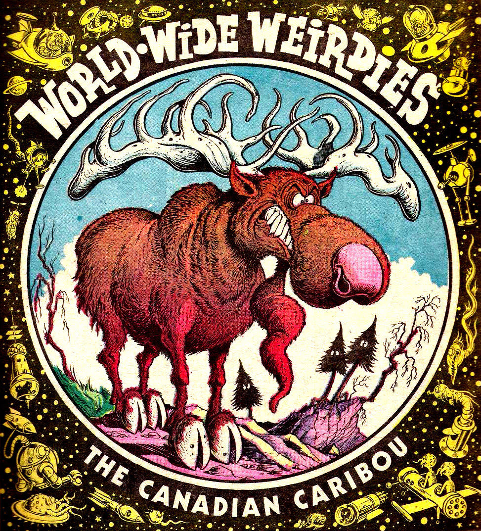 Ken Reid - World Wide Weirdies 74