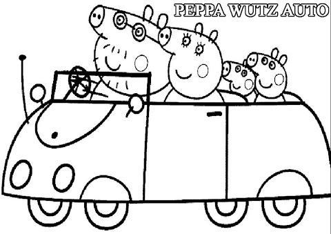 Peppa Wutz Zum Ausmalen
