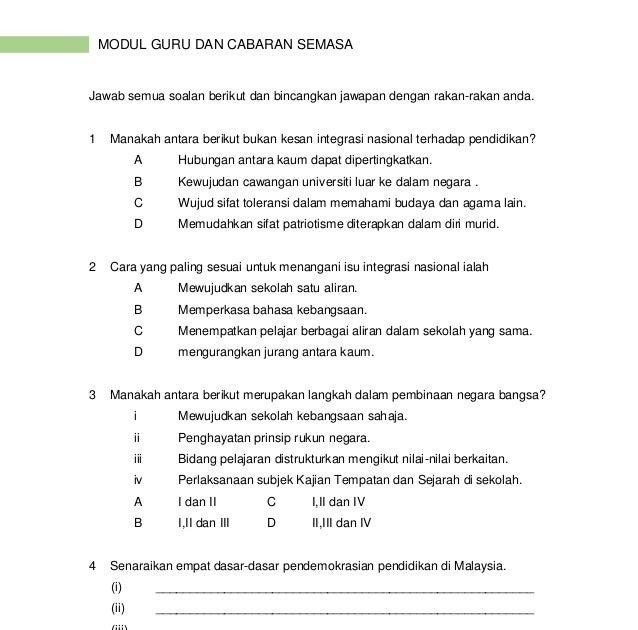 Contoh Soalan Kuiz Kemerdekaan Dan Jawapan Soalan Bf