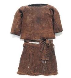 La blouse et la jupe de la fille d'Egtved