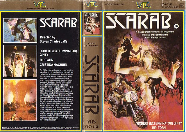 Scarab (VHS Box Art)