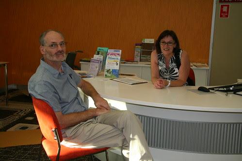 Peter Walton and Di Richards