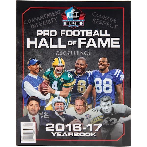 NFL 2016 Football Hall of Fame Yearbook  NFLShop.com