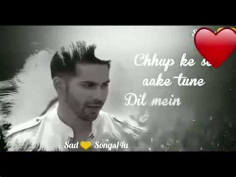 romantic song lyrics whatsapp status video hindi