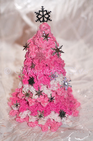 Pink Friday Snowflake Tree