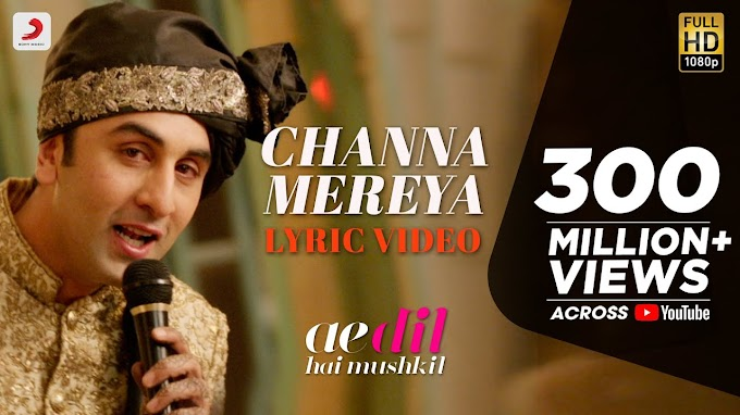 Channa Mereya Song Lyrics in English with Chords By Arijit Singh,Pritam | Pdf file