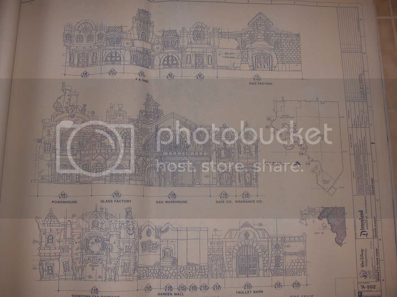 Disney And More Want To Build A Toon Town Replica In Your Backyard Then Check This Ebay Auction To Get The 768 Blueprints