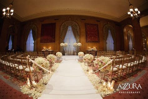 Fairmont Olympic Hotel Wedding by Flora Nova Design