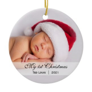 Baby's | First Christmas Photo Ornament