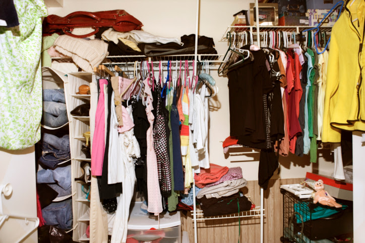 Image result for messy closet