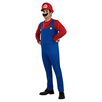 Mario Bros - I-889228L - Déguisement - Costume Adulte - Taille L