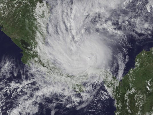 7.0 Earthquake And Hurricane Otto Strike Central America SIMULTANEOUSLY