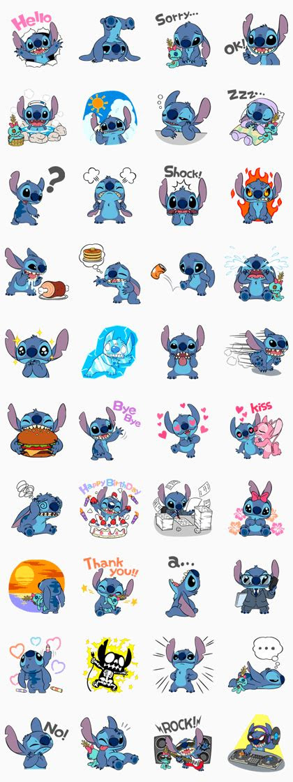 stitch animated pop  mayhem rowdy cuteness