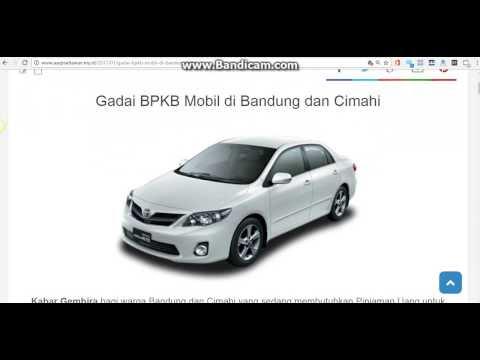 0812 2242 9289 Cara Menggadaikan BPKB Mobil di Bandung dan Cimahi