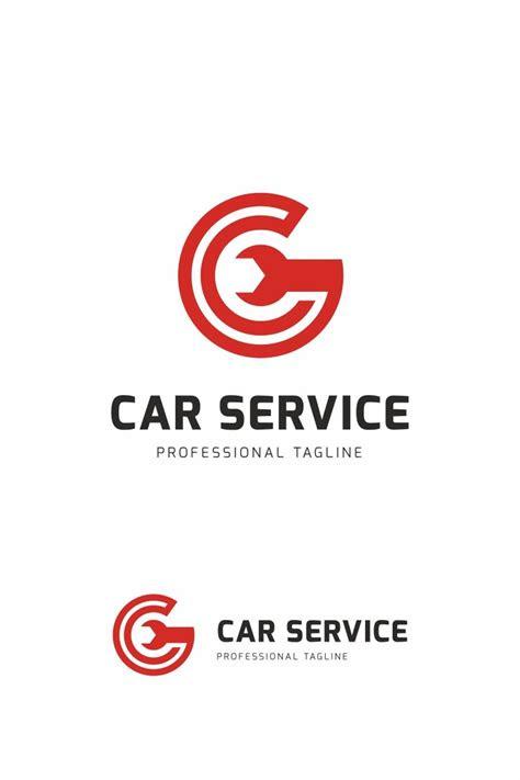 car service logo template  brand service logo
