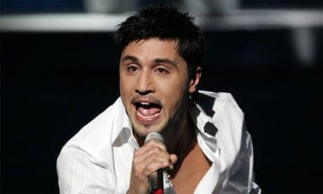 Eurovision 2008 winner Dima Bilan