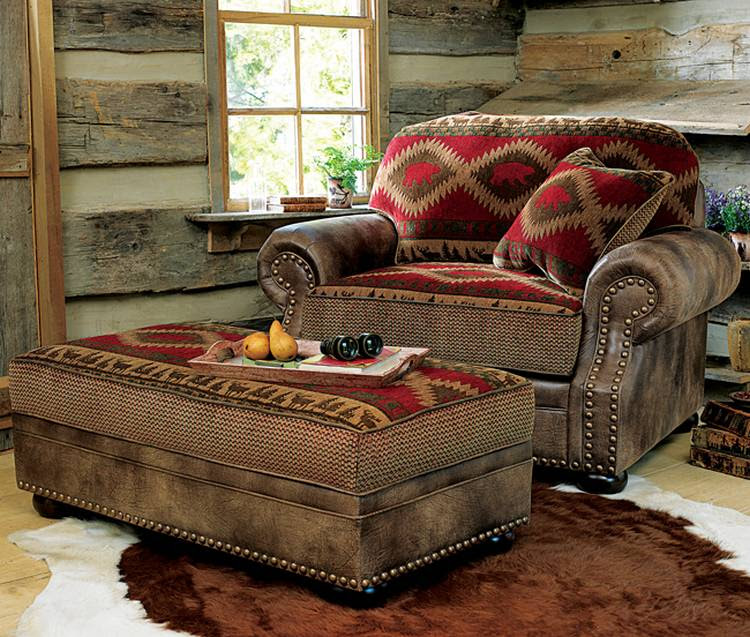 Comfortable Oversized Chairs with Ottoman - HomesFeed