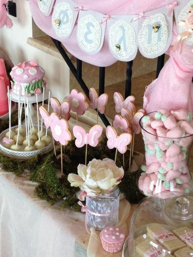 Bridal Shower Pretty In Pink Birthday Party Ideas 2060434