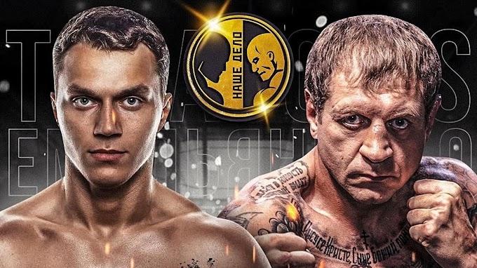 Александр Емельяненко и блогер Артем Тарасов объявили дату боя 18 сентября и правила поединка по боксу