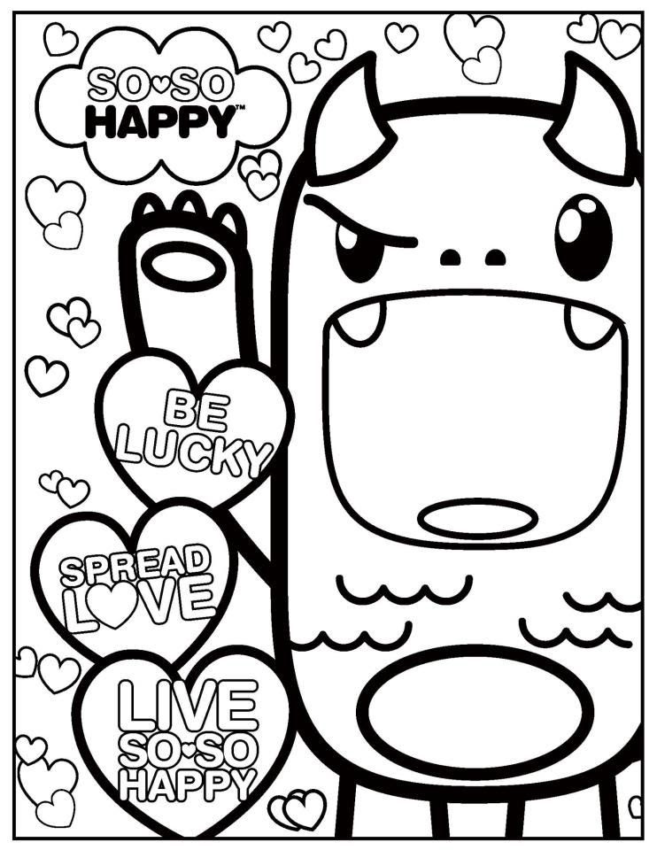Cute Kawaii Coloring Pages At Getcolorings Com Free Printable