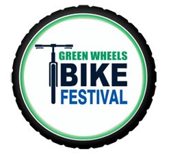 Green Wheels Bike Festival Logo