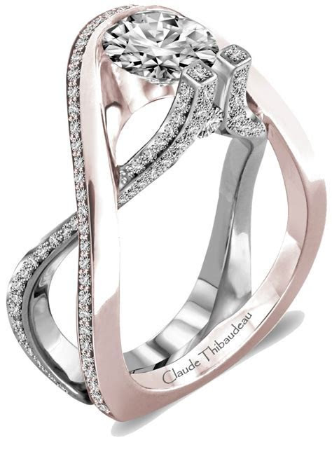 Claude Thibaudeau #engagement #ring #wedding   Here comes