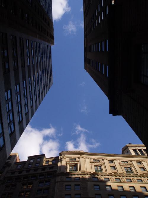 canyon off Broadway, Manhattan, NYC