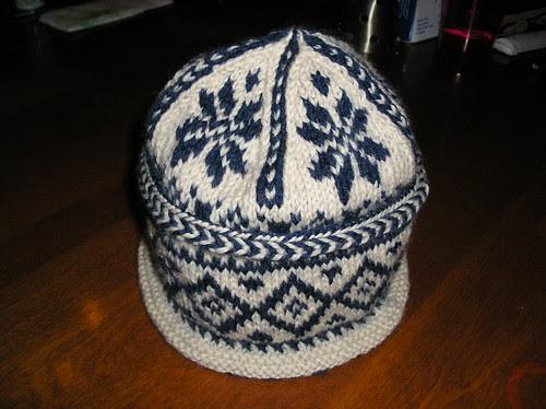 Triple Pattern Watch Hat