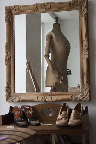 Vintage shopping,Ludlow,Shropshire