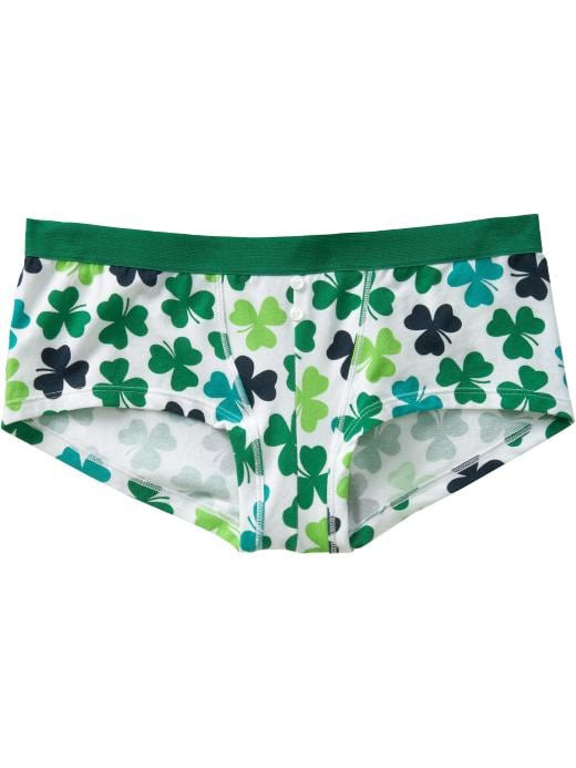 Old Navy Womens St. Patrick Boy-Short Underwear