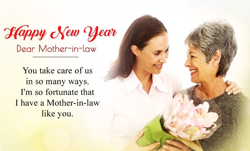 Happy New Year Quotes For Mother In Law Best New Year Wishes For