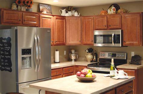 fall kitchen decor living rich  lessliving rich