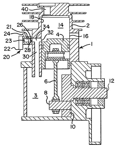 Patent US7331315 - Two-stroke engine with fuel injection