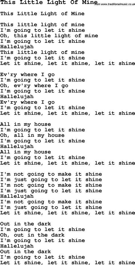 light   negro spiritualslave song