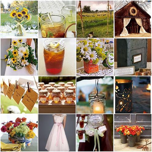 Mason Jar Wedding Decoration Ideas