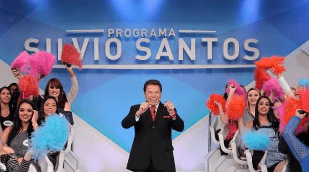 Silvio Santos e suas colegas de trabalho: vice-liderança em São Paulo e no Rio de Janeiro.