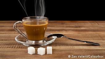 Kaffee Zucker Tisch