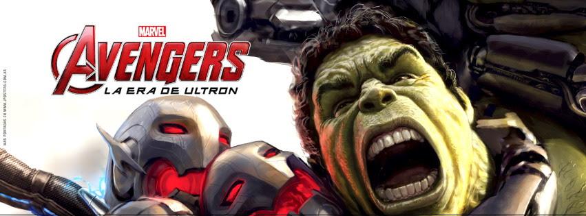 """Portadas de Facebook de """"Los Vengadores: La Era de Ultrón"""""""