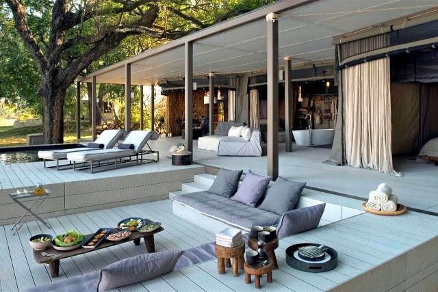 Chinzombo Safari Lodge in Zambia by Norman Carr Safaris Interior Design Ideas Ofdesign - AVA Creative Solutions