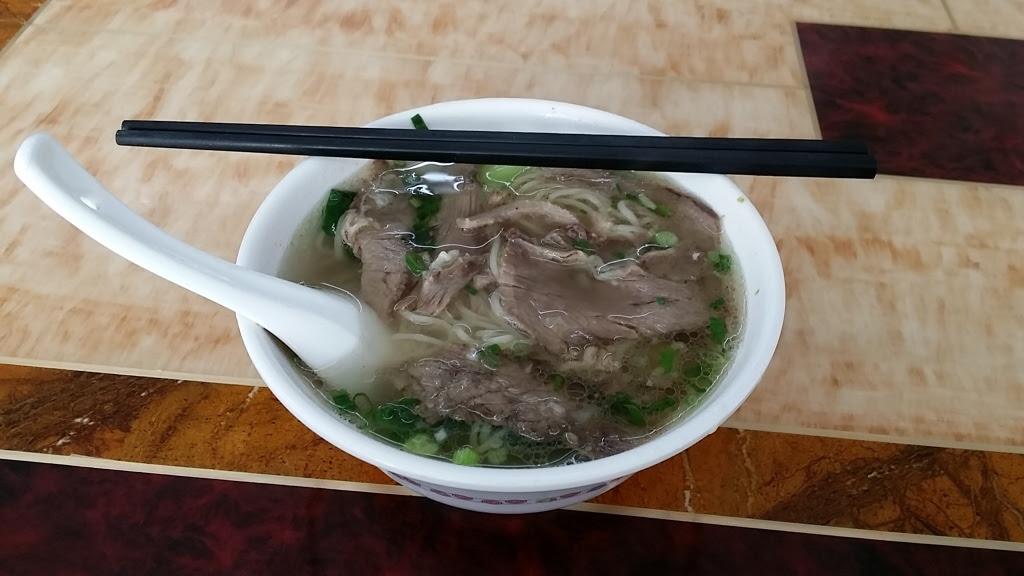 清真の牛肉麺