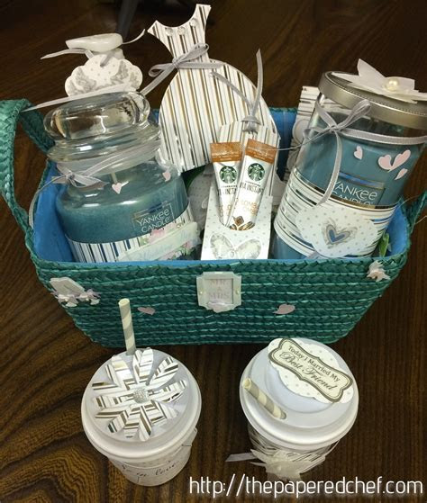 Yankee Candle Wedding Gift Basket   The Papered Chef