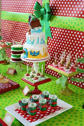 Guest Party Grinch First Birthday Party The Party Teacher