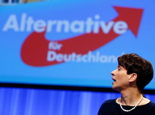 La leader di AfD, Frauke Petry, 40 anni