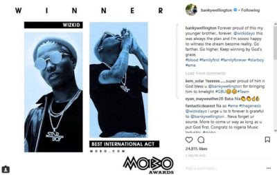 Goodluck Jonathan, Ben Bruce & Others Praise Wizkid For Winning MOBO Award -mp3made.com.ng