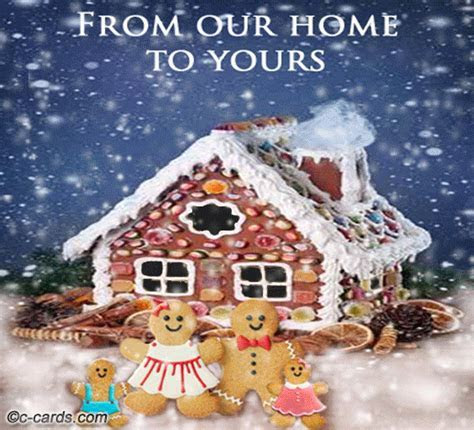Gingerbread House. Free From Our Home to Yours eCards