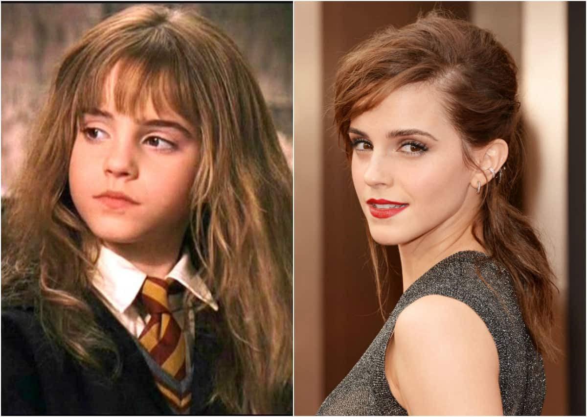 "Emma Watson cresceu muito desde o primeiro ""Harry Potter"""