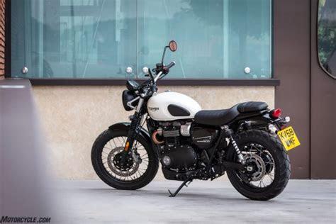triumph street scrambler img  motorcyclecom